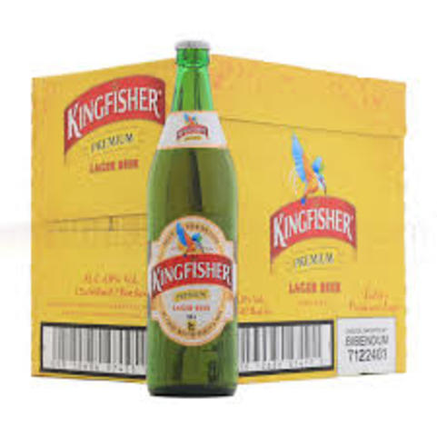 Kingfisher Premium Lager Beer 12 x 660ml