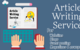 Thumb professional article writing service
