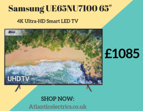 Samsung UE65NU7100 65 Inch 4K HDR UHD Smart LED TV