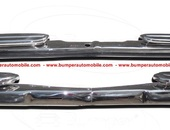 Mercedes W108 & W109 bumper (1965-1973) stainless steel