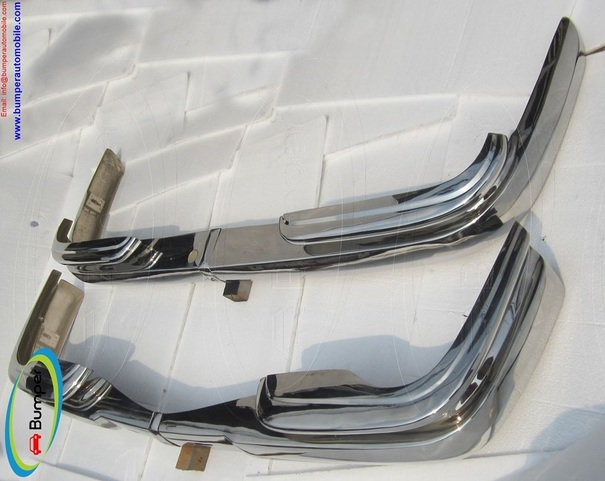 Mercedes W111 coupe bumper (1969-1971) stainless steel