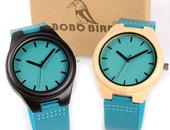 BOBO BIRD TURQUOISE - MEN'S WOODEN WATCH