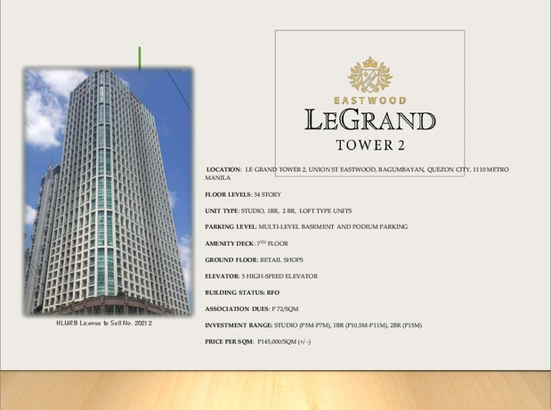 Eastwood LeGrand Tower 2