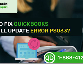 How to Fix QuickBooks Payroll Error PS033?