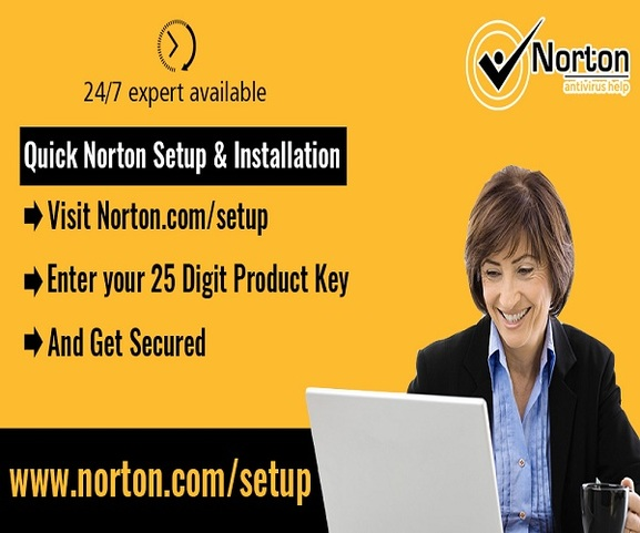 norton setup - enter norton product key