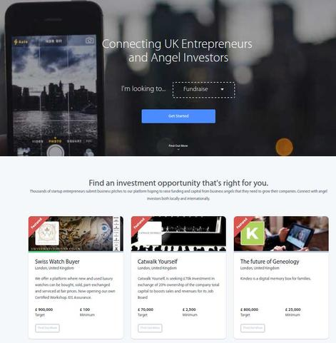 Find out the entreprenual service in UK.