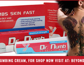 Dr. Numb is World Best Skin Fast Numbing cream
