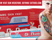 Dr Numb Cream is best for Tattoo Waxing and Piercing