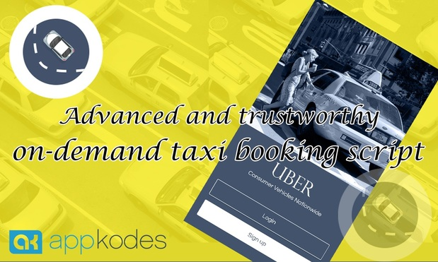 40% Offer Online Uber Taxi Booking Script - CABSO