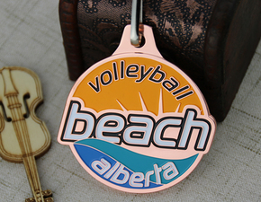 Custom Medal for Sports- Volleyball