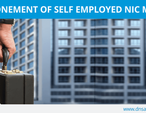 Postponement of Self-employed