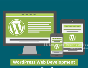 Wordpress website development with fully functionality