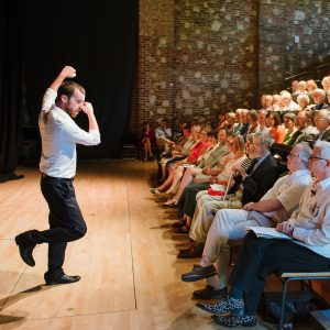Glyndebourne Insider Talk events. Photo: Graham Carlow