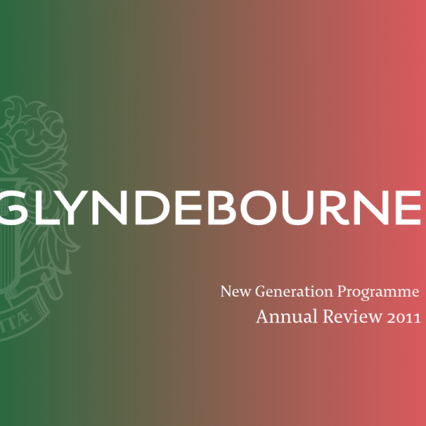Annual Review 2011 - New Generation