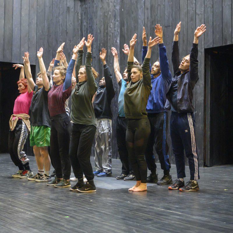 La damnation de Faust — rehearsal gallery