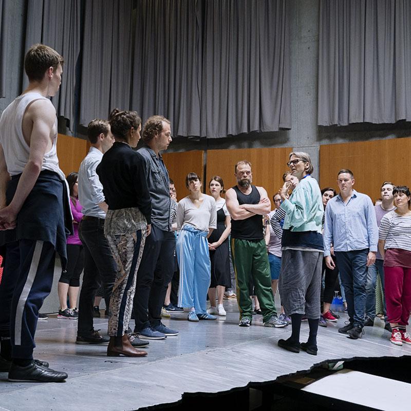 Rusalka — rehearsal gallery