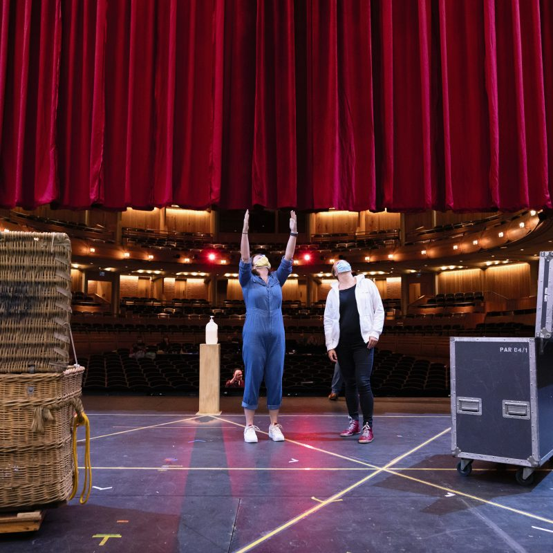 In the Market for Love – autumn rehearsal gallery