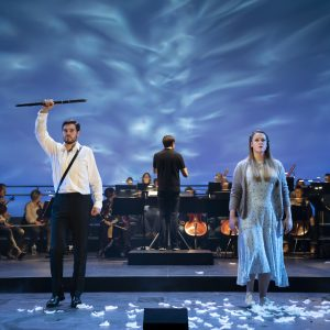 The Magic Flute: a semi-staged performance