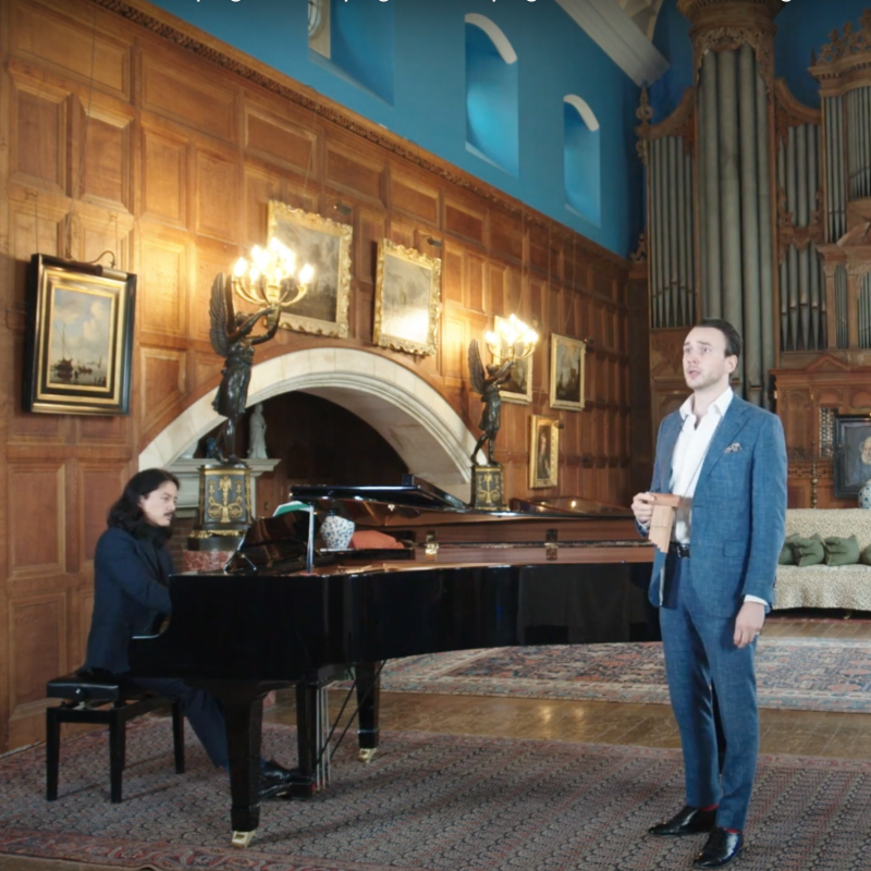The Organ Room Sessions: Huw Montague Rendall