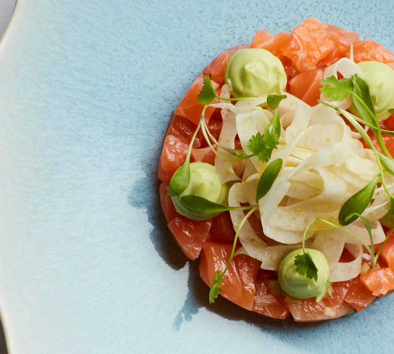 The Galvin Brothers: cured salmon recipe