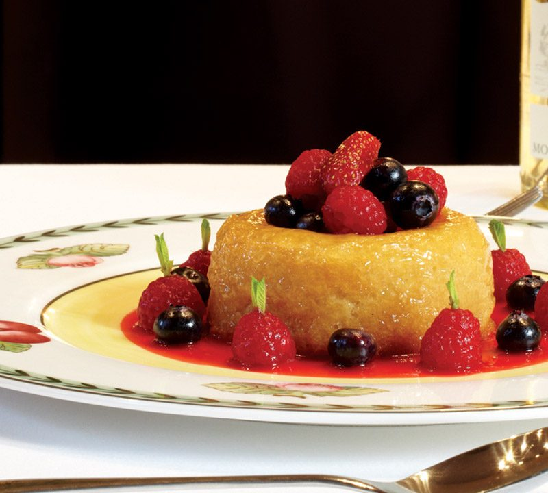 The Galvin Brothers recipe: Savarin of summer berries
