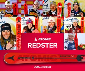 "ATOMIC REDSTER: TINTE ROSSO ""FUOCO"" A ST. MORITZ 2017"