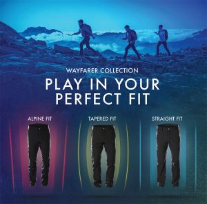 "SALOMON WAYFARER PANTALONI OUTDOOR. FIT SU ""MISURA"""