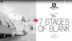 "SALOMON TV THE ""7 STAGES OF BLANK"""