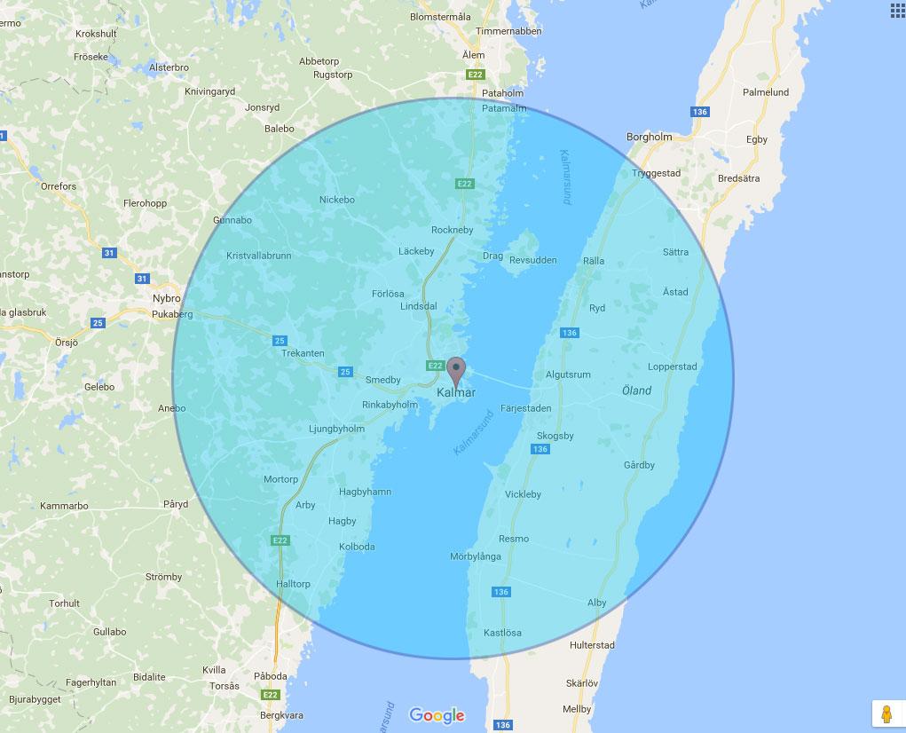 Bli synlig på Google på Öland och i Kalmar med omnejd