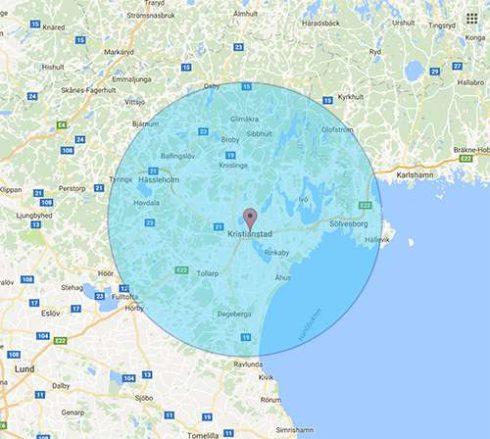 Bli synlig på Google i Kristianstad med omnejd