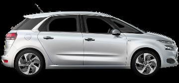 Citroën C4 Picasso Aut., Mercedes Clase B Aut.