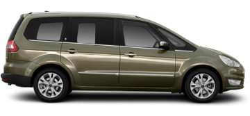 Ford Galaxy, Volkswagen Sharan, Nissan NV200