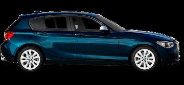 BMW Serie 1, Audi A3 Sportback, Mercedes Clase A, Mini Countryman