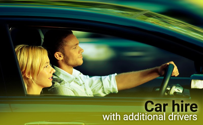 Car rental with additional drivers