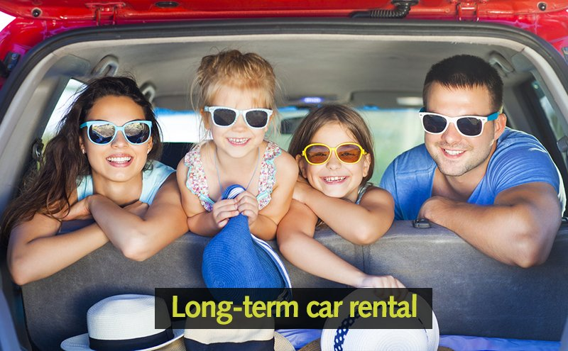 Long-term car hire