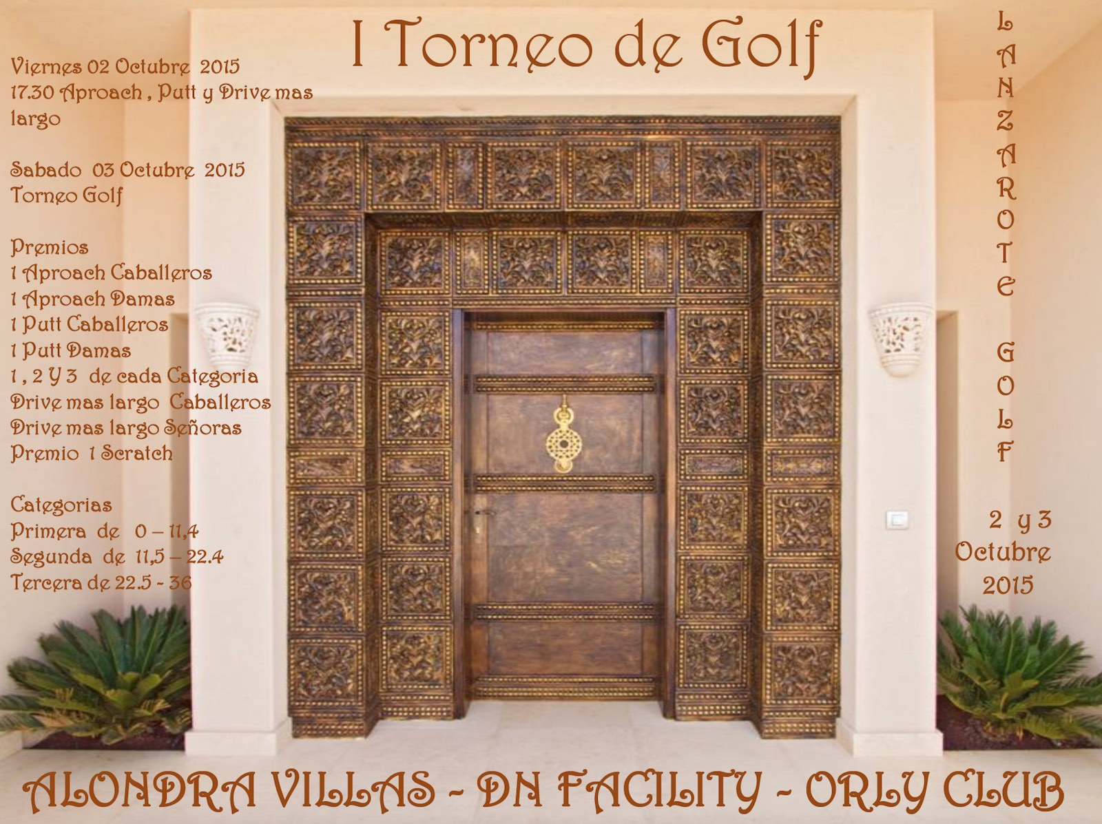 I Torneo de Golf Alondra Villas