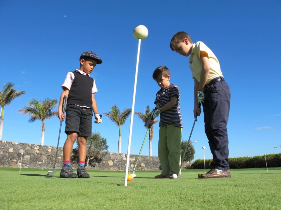 Escuela de Golf para Niños