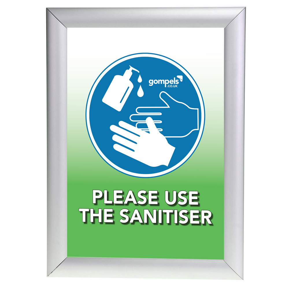 Please Use The Sanitiser Sign