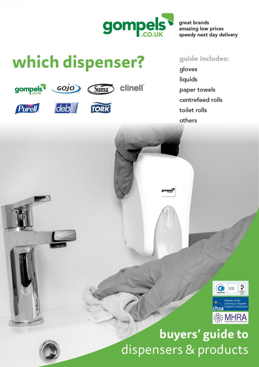 Download the Buyers Guide to dispensers and their products