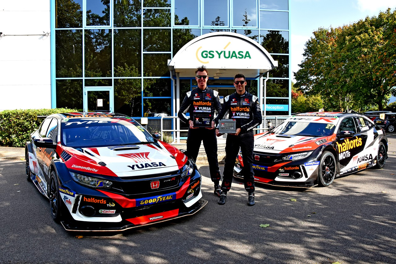 Yuasa celebrate 10 years in BTCC with special livery and exclusive competition