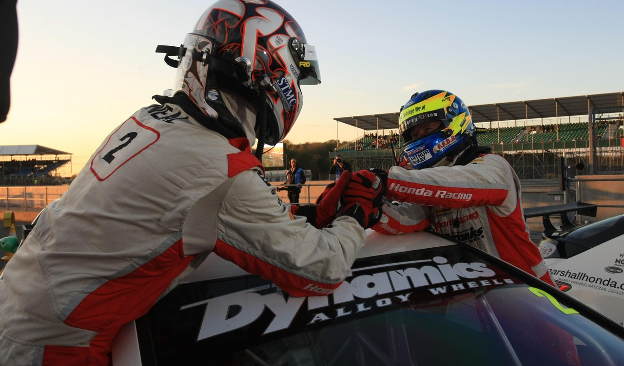 Honda and Team Dynamics pay tribute as Gordon Shedden departs for pastures new
