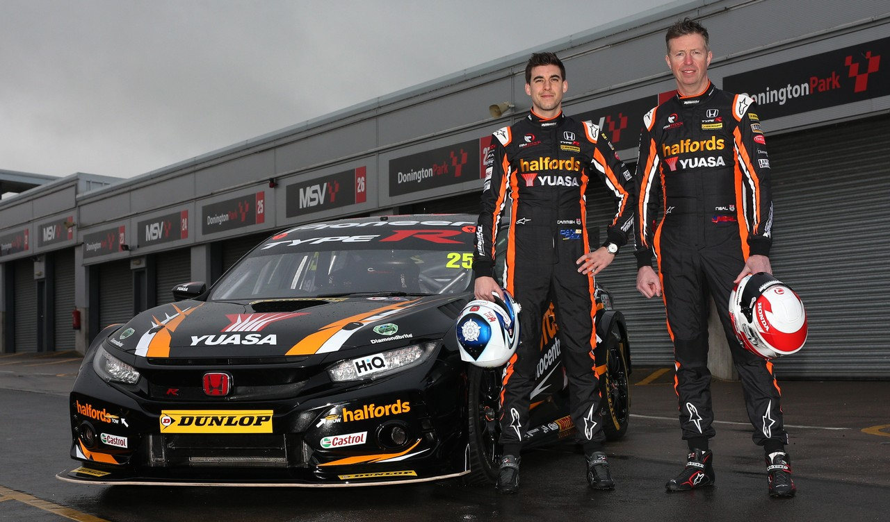 Neal and Cammish keen to repay 'titanic'  team effort with Brands Hatch silverware
