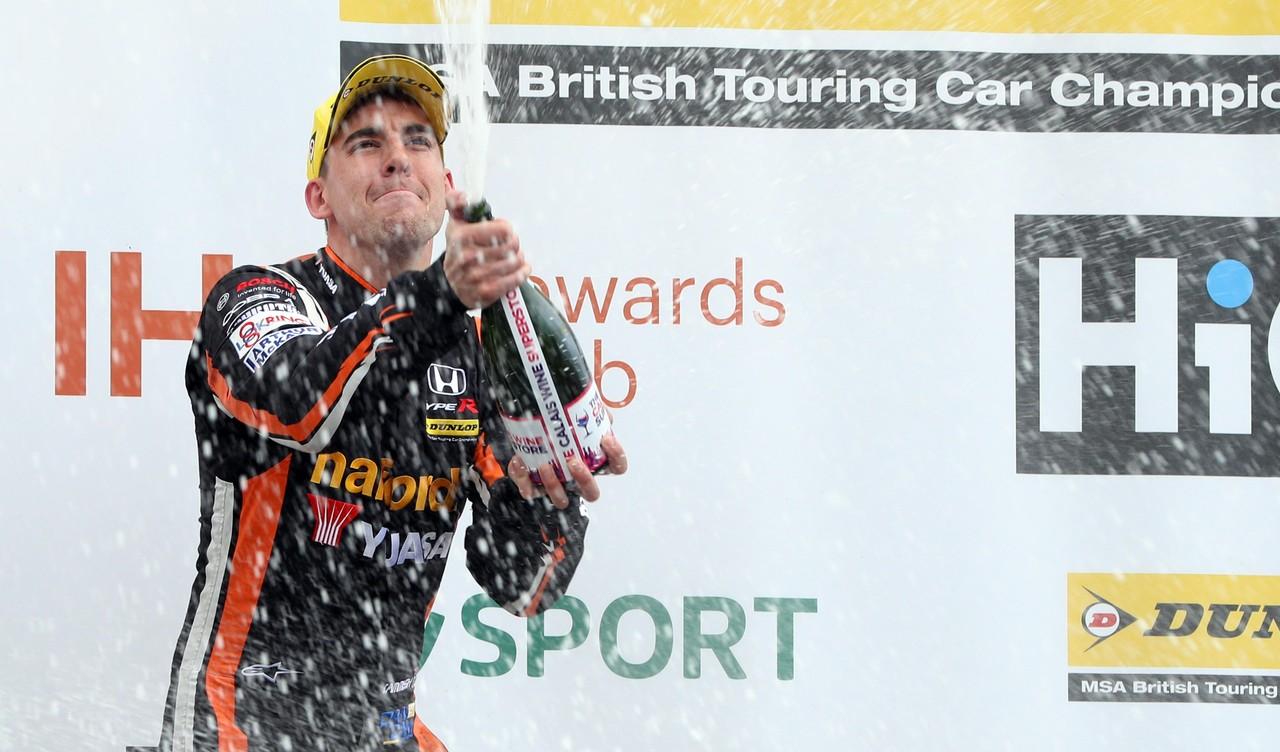 Maiden podium fires new boy Cammish up BTCC title standings