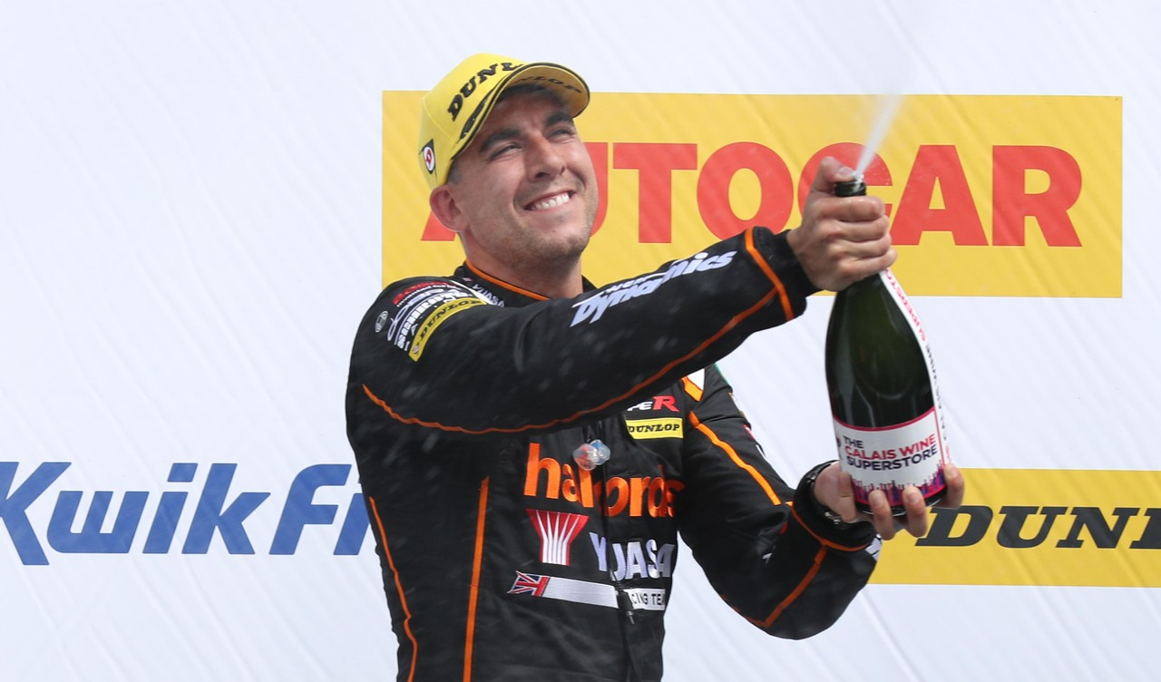 Another podium for Honda at tough Croft BTCC
