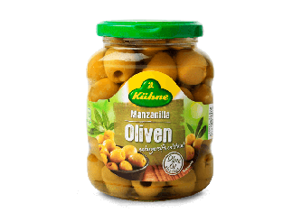 Kuhne Pitted Green Olives