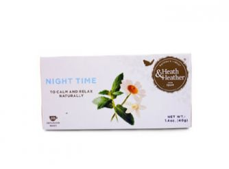 Heath & Heather Organic Night Time Herbal Infusion
