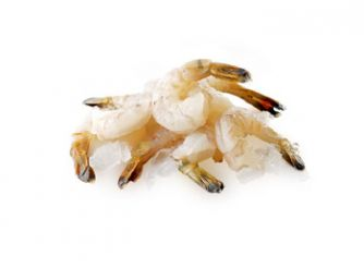 Poseidon Black Tiger Large Shrimps Peeled & Deveined Tail On