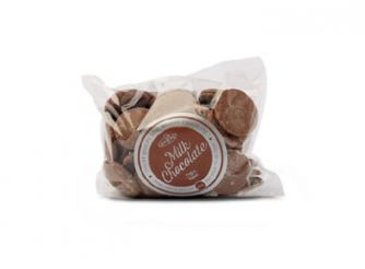 Gourmet Real Belgian Milk Chocolate Buttons