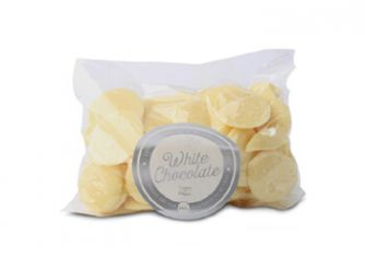 Gourmet Belgian White Chocolate Buttons