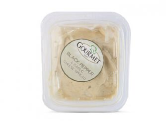 Gourmet Cream Cheese Spread With Black Pepper & Garlic